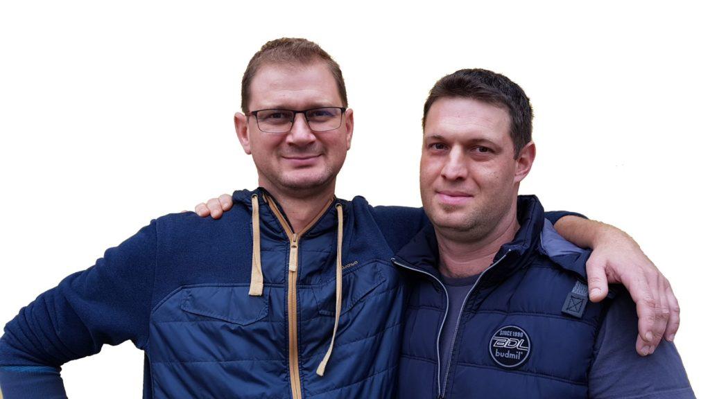 Tóth Márton és Békási Attila